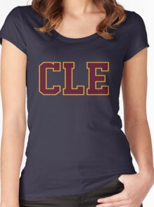 CLE cleveland basketball champion 2016 Game 6 Finals Women's Fitted Scoop T-Shirt