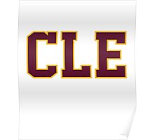 CLE cleveland basketball champion 2016 Game 6 Finals Poster
