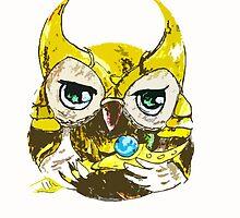 Loki owl by AderynValentine