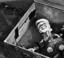 Clown Marionette Sticker
