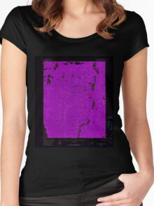 USGS TOPO Map Alaska AK Black River A-6 354623 1956 63360 Inverted Women's Fitted Scoop T-Shirt