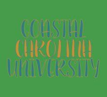 Coastal Carolina University Kids Tee