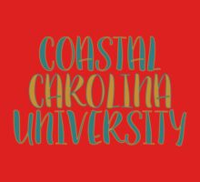 Coastal Carolina University Kids Tee