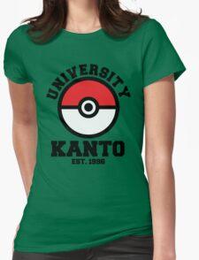 Poke University Womens Fitted T-Shirt