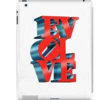 EVOLVE (Custom background) iPad Case/Skin