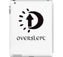 Sleep in Oblivion iPad Case/Skin