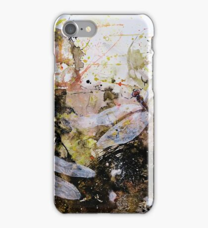 Rainforest and Dragonfly iPhone Case/Skin
