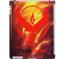 pokemon go valor  iPad Case/Skin