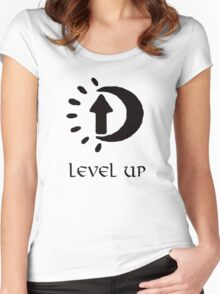 Oblivion Level Up II Women's Fitted Scoop T-Shirt