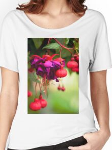 Fuschia Women's Relaxed Fit T-Shirt