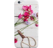 Sweet Peas iPhone Case/Skin