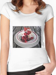 Yummy!! Women's Fitted Scoop T-Shirt