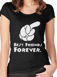 BFF Right Women's Fitted Scoop T-Shirt