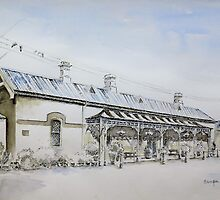 Forbes Railway Station by Sampa Bhakta