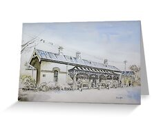 Forbes Railway Station Greeting Card