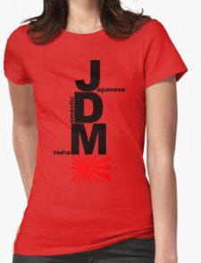 JDM Rising Sun (2) Womens Fitted T-Shirt