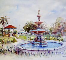 Fountain at Victoria Park, Forbes by Sampa Bhakta