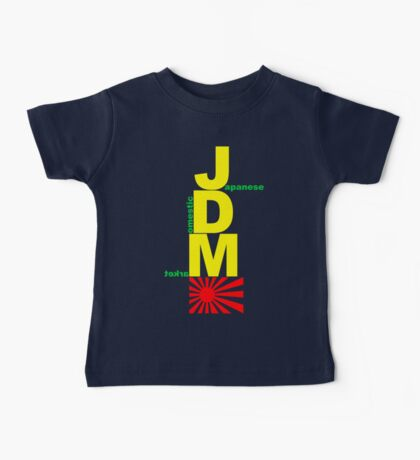 JDM Rising Sun (3) Baby Tee