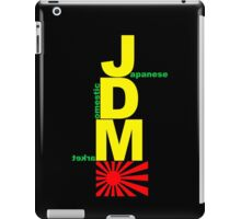 JDM Rising Sun (3) iPad Case/Skin