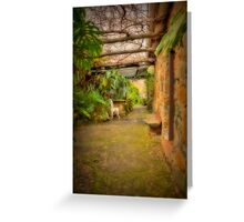 The Secret Garden Greeting Card