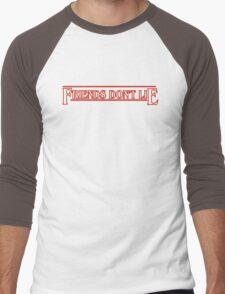 FRIENDS DON'T LIE - stranger things Men's Baseball ¾ T-Shirt