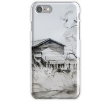 Old Shearing Shed, Forbes, NSW iPhone Case/Skin
