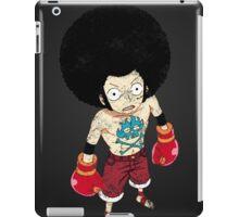 Luffy Boxer Grunge iPad Case/Skin