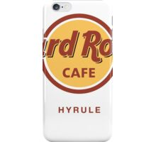 Hard Rock Cafe Hyrule Zelda iPhone Case/Skin