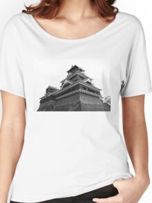 Samurai Castel (Black and White) Women's Relaxed Fit T-Shirt