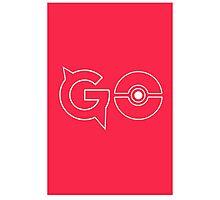 Pokemon Go Photographic Print