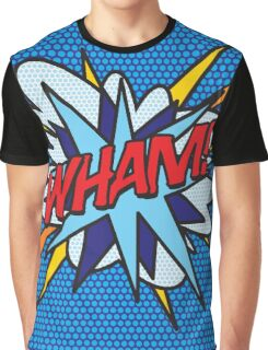 Comic Book Pop Art WHAM! Graphic T-Shirt