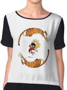 Calvin & Hobbes Chiffon Top