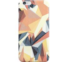 Netz aus bunten Dreiecken Sketch 1 iPhone Case/Skin