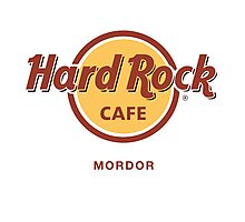 Hard Rock Cafe Mordor Lord of the Rings Photographic Print
