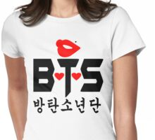 ♥♫Love BTS-Bangtan Boys K-Pop Clothes & Phone/iPad/Laptop/MackBook Cases/Skins & Bags & Home Decor & Stationary♪♥ Womens Fitted T-Shirt