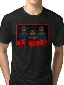 Mr Robot's Shining Delusion Tri-blend T-Shirt