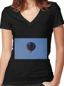 Afternoon Delight Women's Fitted V-Neck T-Shirt
