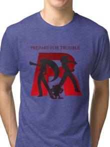 Pokemon - Team Rocket Tri-blend T-Shirt