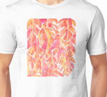Split Leaf Philodendron – Melon Palette Unisex T-Shirt
