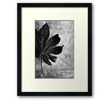 Stand Alone Framed Print