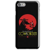 The adventures of Cow and Chicken 2 iPhone Case/Skin