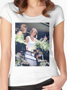 I Know Places | Kaylor Women's Fitted Scoop T-Shirt
