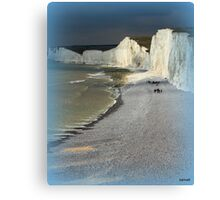 England's Seven Sisters Canvas Print