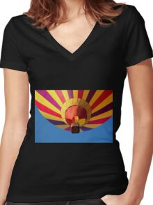 Airgasm II Women's Fitted V-Neck T-Shirt