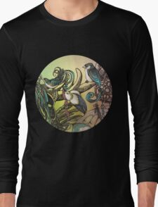 Three birds Long Sleeve T-Shirt