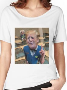 Schoolboy Uncle Trump Women's Relaxed Fit T-Shirt