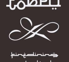 Foodie Logos - TOBRU Sticker