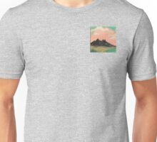 Happy Mountains under Happy Clouds  Unisex T-Shirt