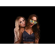 Eliza Taylor & Lindsey Morgan - The 100 Comic Con - Princess Mechanic Photographic Print