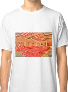 Dining Hall and Photographer Classic T-Shirt